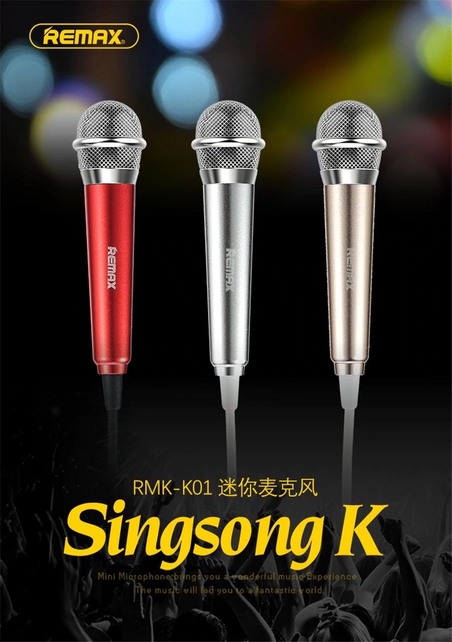 Remax Rmk K01 Mini Microphone (19)