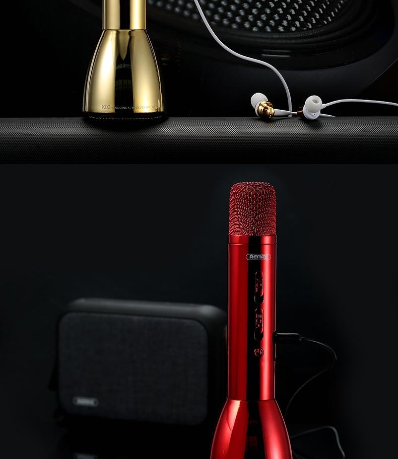 Remax Rmk K03 Microphone Bluetooth Speaker (10)
