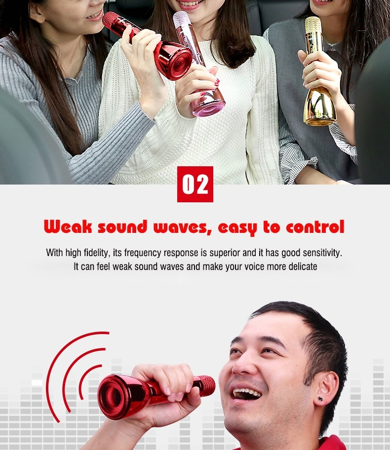 Remax Rmk K03 Microphone Bluetooth Speaker (3)
