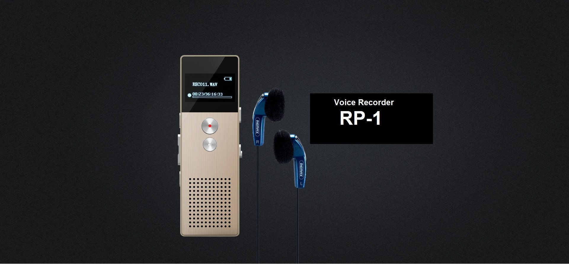 Remax Rp1 Digital Voice Recorder (1)