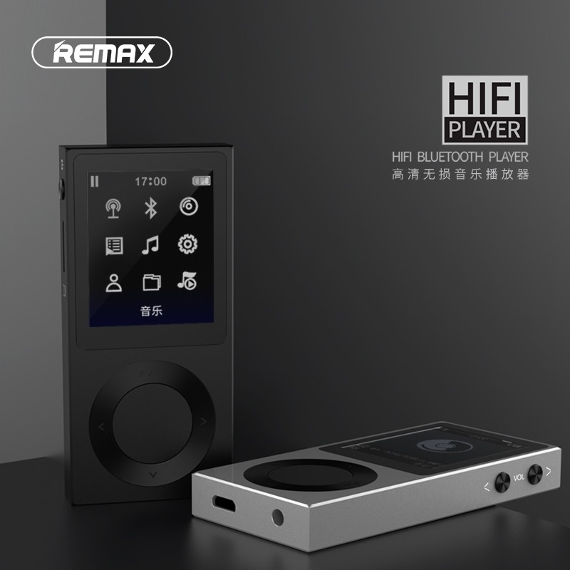 Remax Rp2 1 8 Color Display Hifi Bluetooth 4 1 Lossless Music Player (6)
