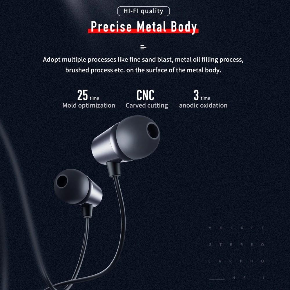 Rock Space Mufree Wired In Ear Earphone (7)