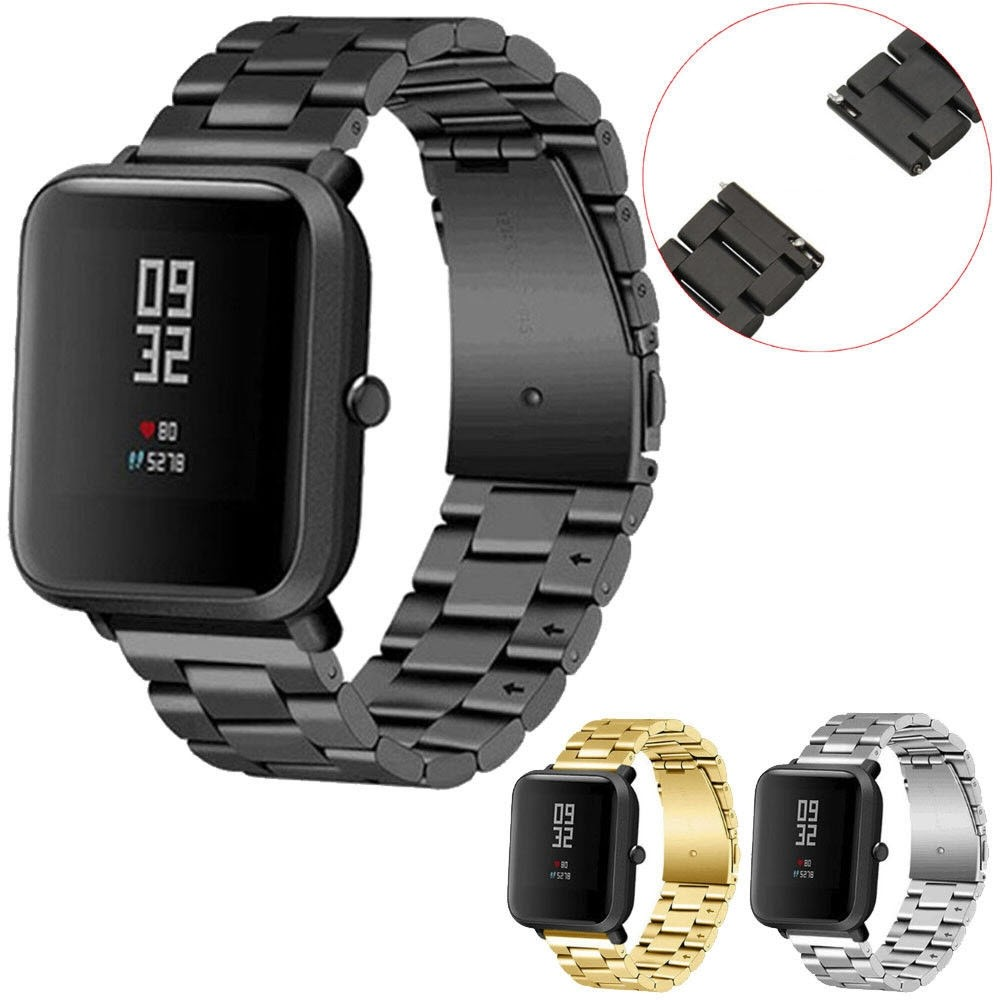 Stainless Steel Band Strap For M29 Amazfit Bip (6)