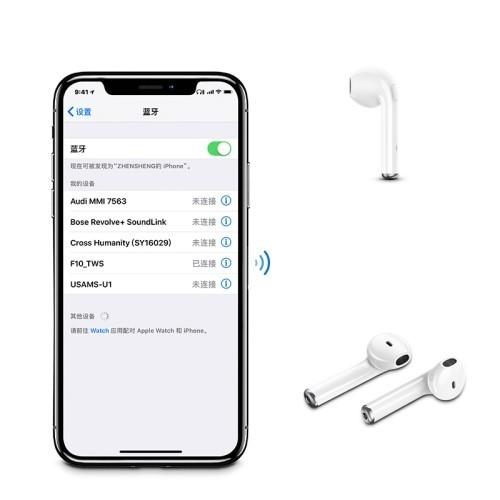 Usams Us Ld001 Lc Series Binaural Wireless Bluetooth Headphone (4)