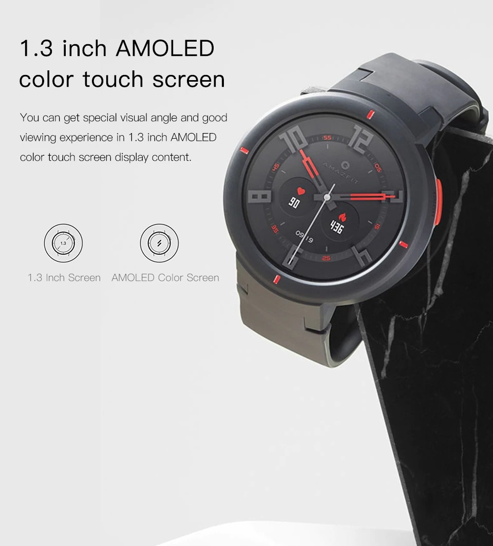 Xiaomi Amazfit Verge Smart Watch (10)