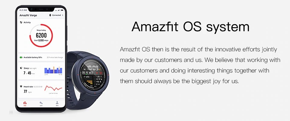 Xiaomi Amazfit Verge Smart Watch (11)