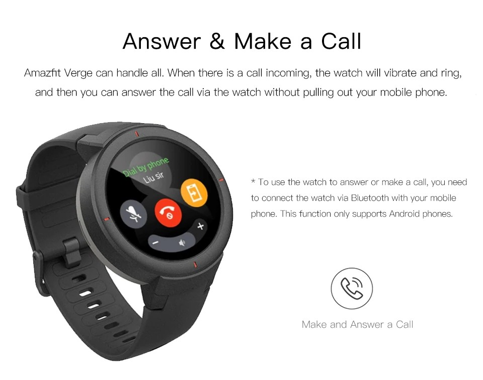 Xiaomi Amazfit Verge Smart Watch (2)