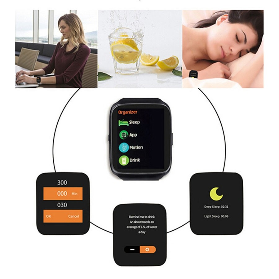 Z40 Smart Watche Bluetooth Activity Fitness Tracker (3)