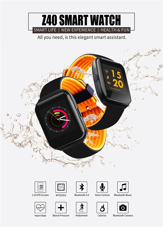 Z40 Smart Watche Bluetooth Activity Fitness Tracker (4)