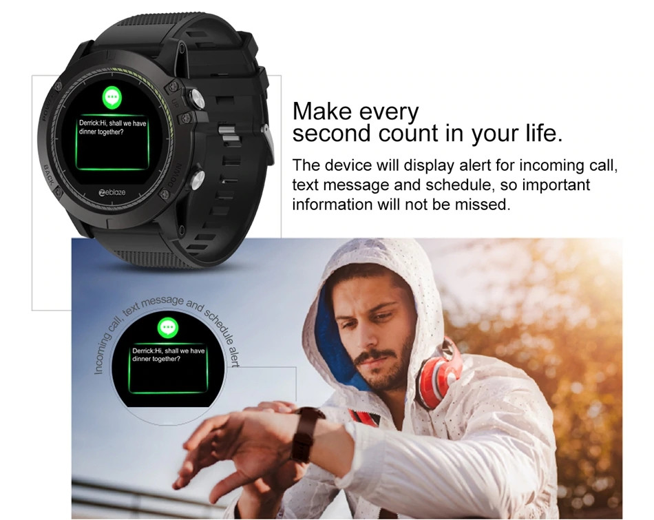 Zeblaze Vibe 3 Hr Waterproof Smartwatch (11)
