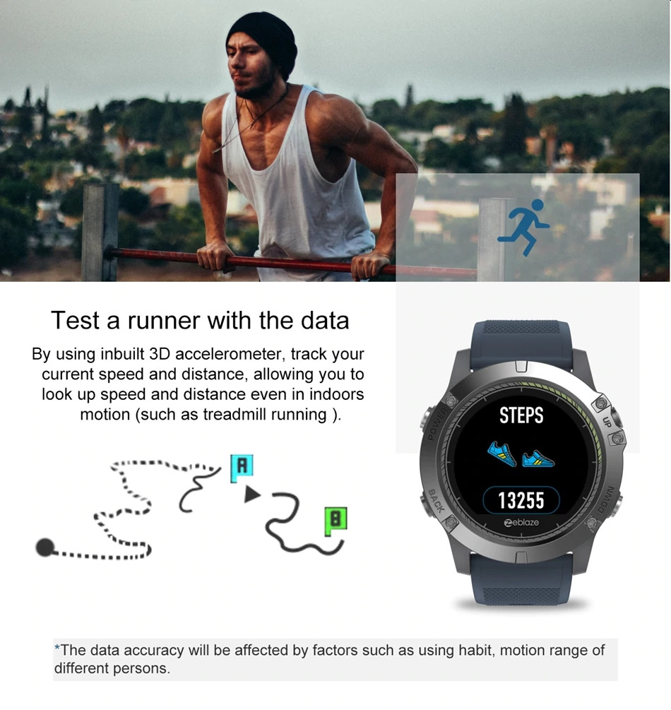 Zeblaze Vibe 3 Hr Waterproof Smartwatch (2)