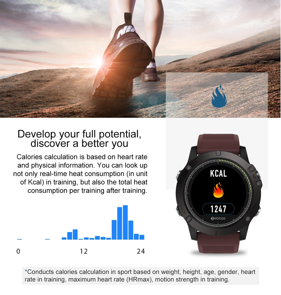 Zeblaze Vibe 3 Hr Waterproof Smartwatch (8)