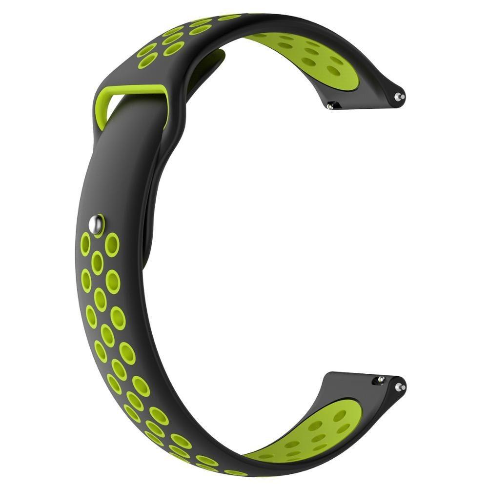 22mm Silicone Strap Green
