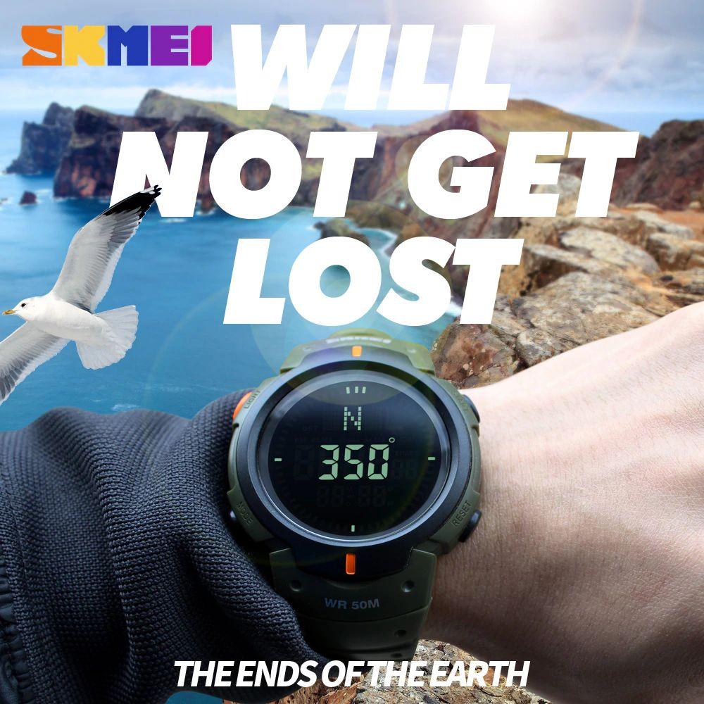 Skmei 1231 Man Sports Compass Watch (2)