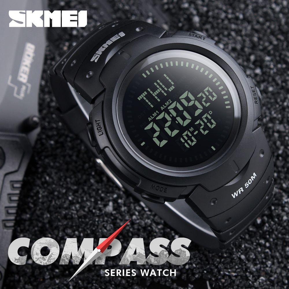 Skmei 1231 Man Sports Compass Watch (3)