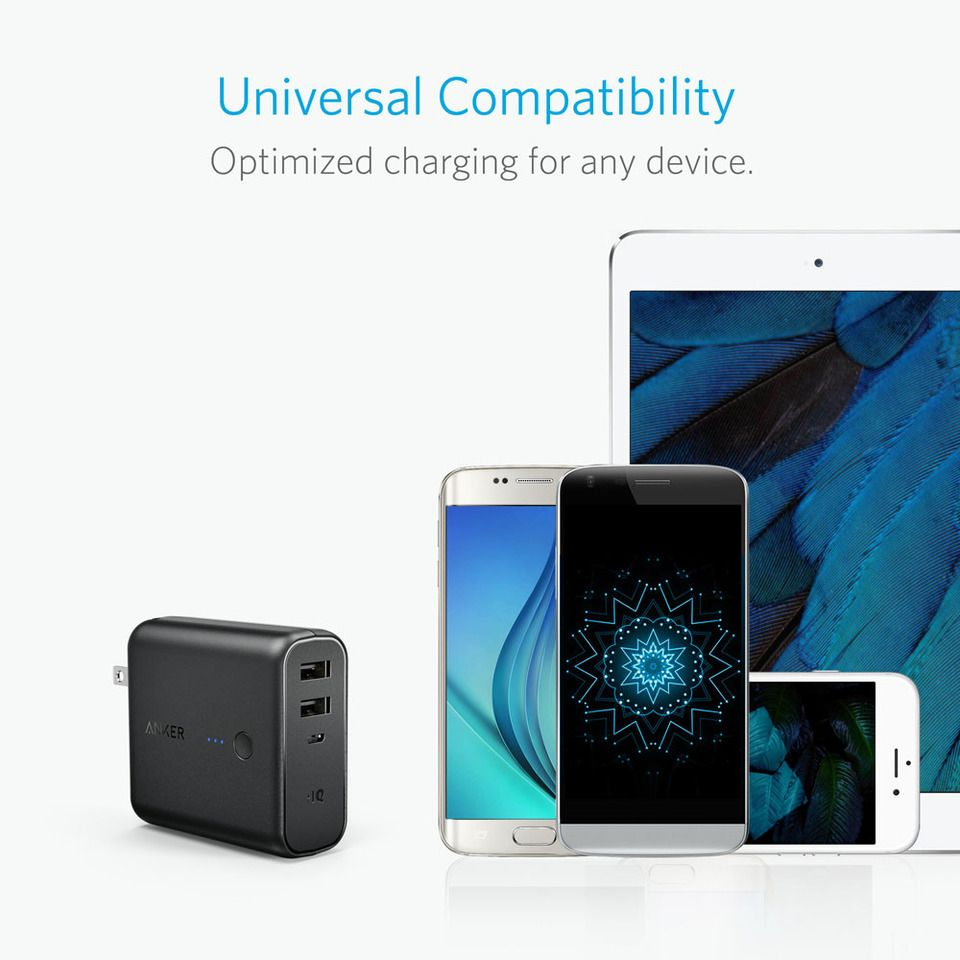 Anker Powercore Fusion 5000 2 In 1 Portable Charger And Wall Charger (3)