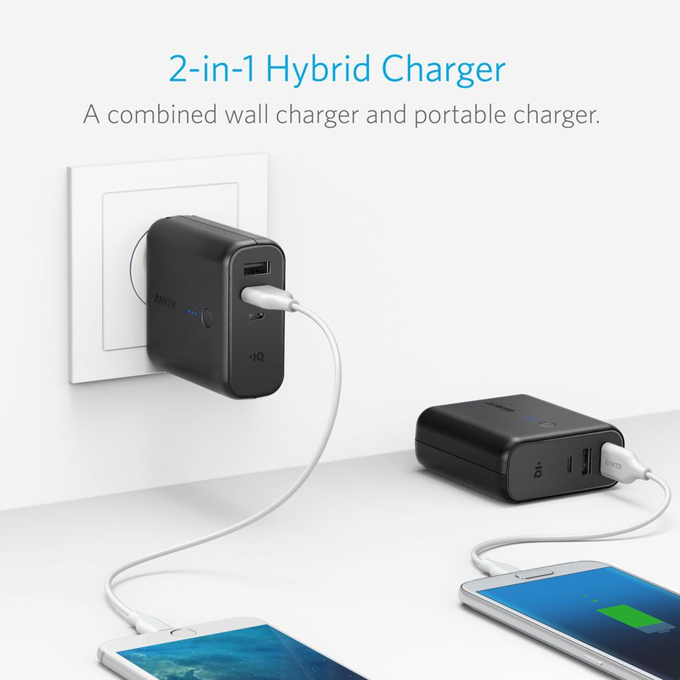 Anker Powercore Fusion 5000 2 In 1 Portable Charger And Wall Charger (5)