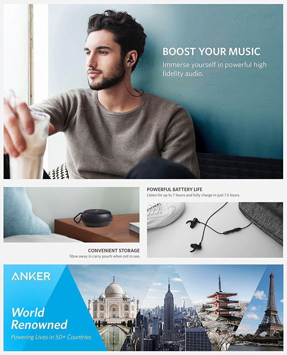 Anker Soundbuds Slim Wireless Earphones