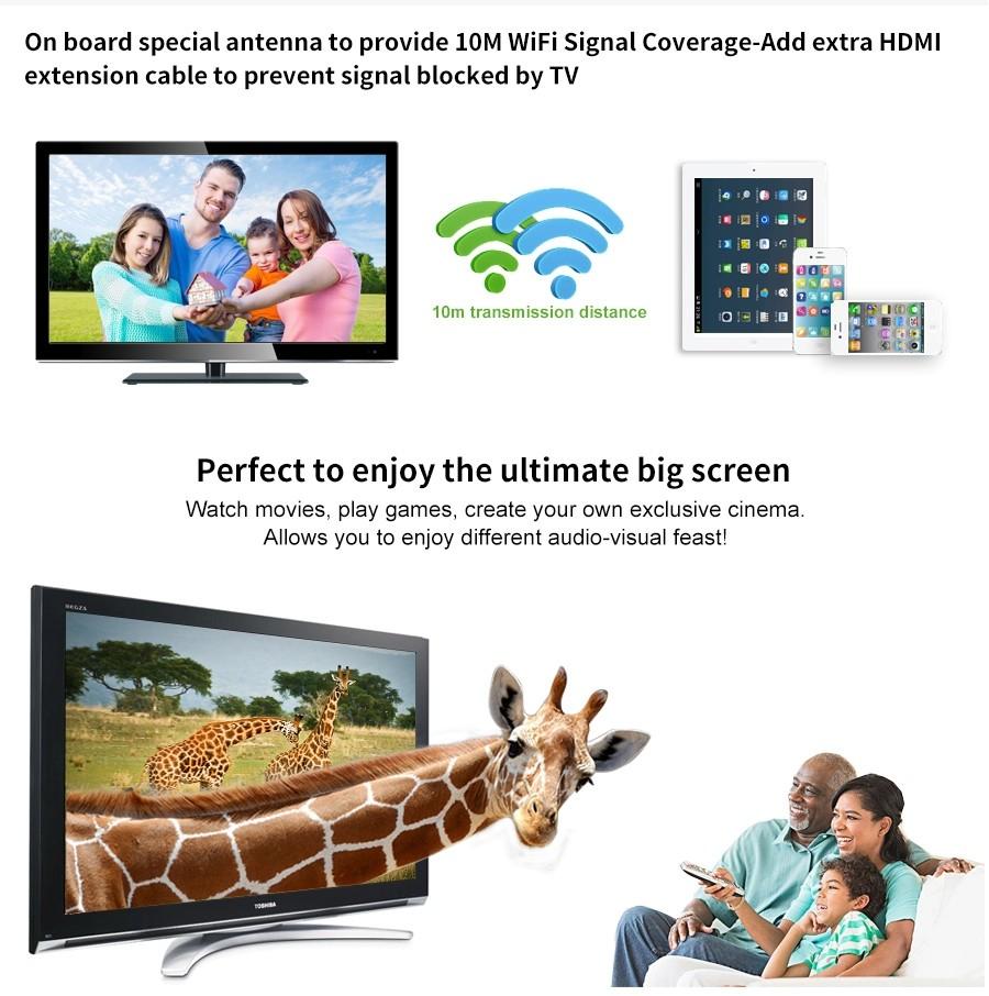 Anycast M4 Plus Wireless Wifi Display Dongle Receiver (13)