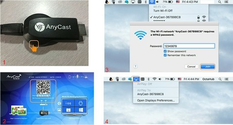 Anycast M4 Plus Wireless Wifi Display Dongle Receiver (5)