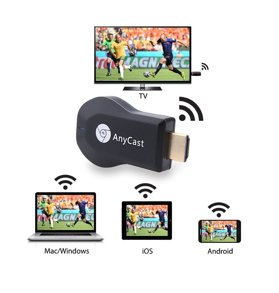 Anycast M4 Plus Wireless Wifi Display Dongle Receiver (6)