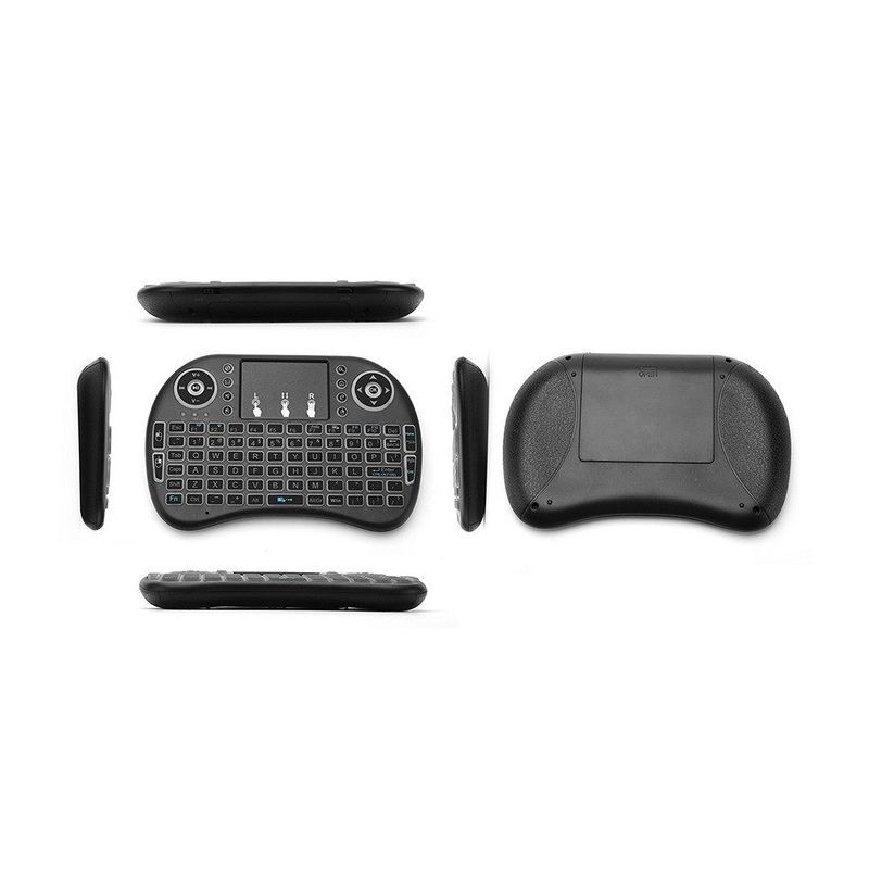 Backlit Mini Wireless Keyboard With Touchpad Infrared Remote Control (3)