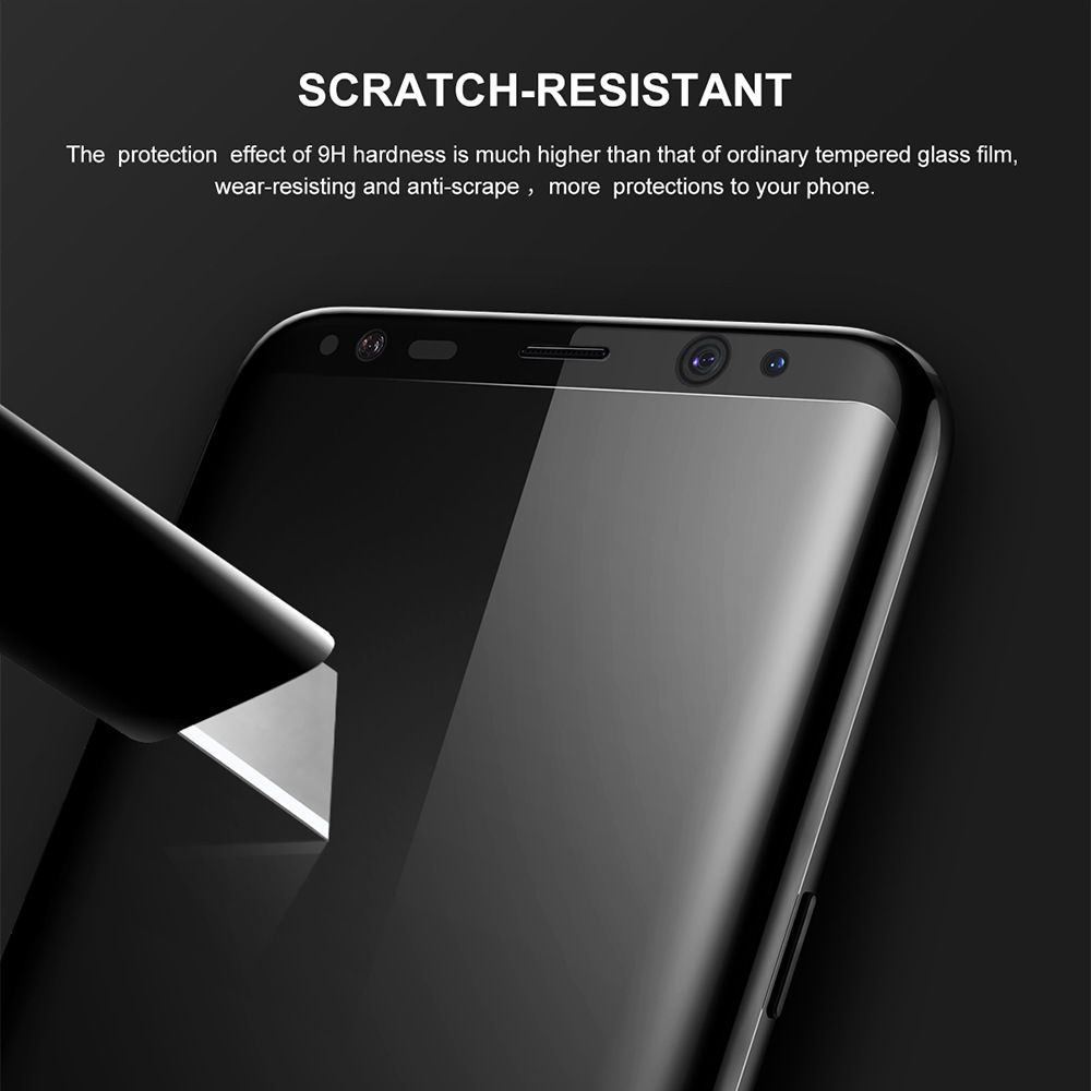 Baseus 3d Tempered Glass Film For Samsung Galaxy S8 S8plus (5)