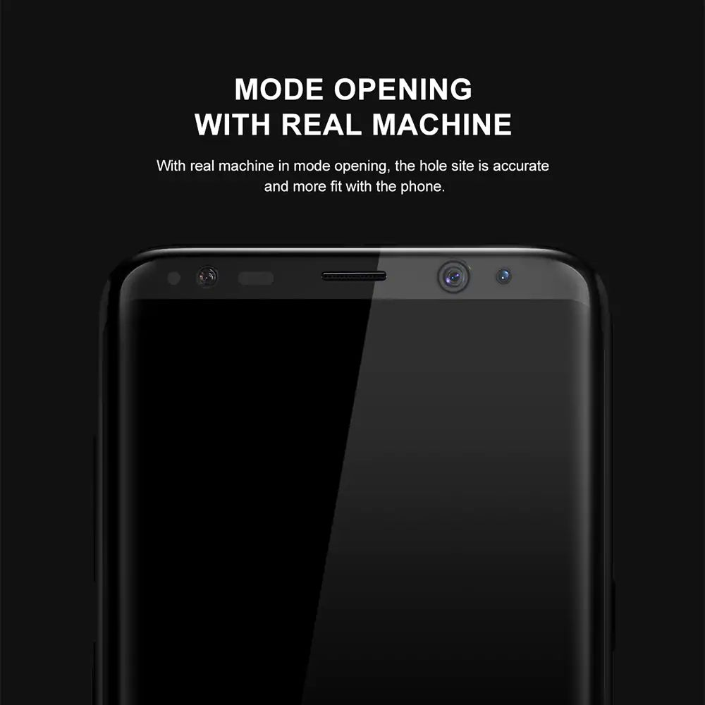 Baseus 3d Tempered Glass Film For Samsung Galaxy S8 S8plus (6)