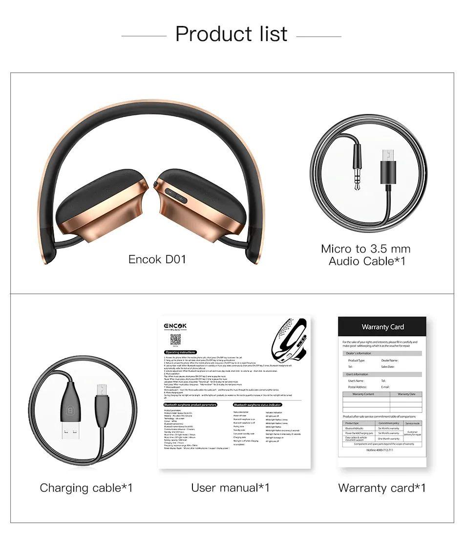 Baseus Encok D01 Bluetooth Headphone (6)