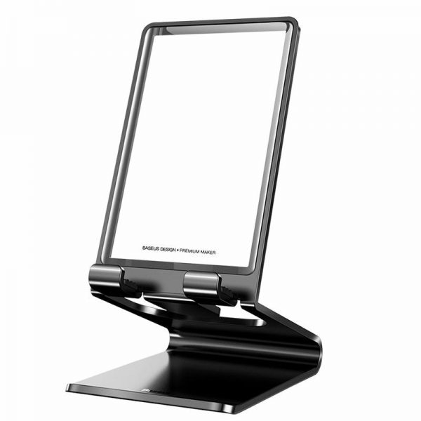 Baseus Phone Holder Stand Universal Metal Desk Support Stand (6)