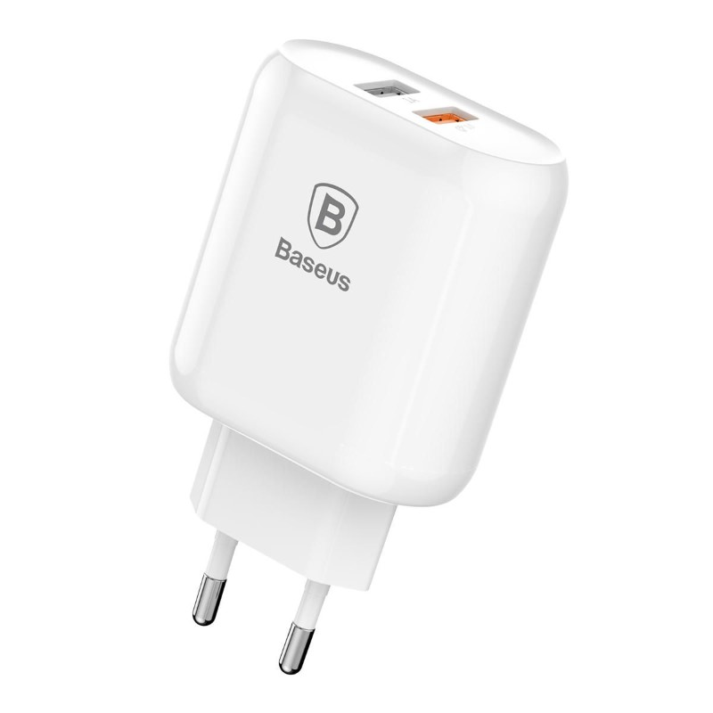 Baseus Quick Charge 3 0 Dual Usb 5v 3a Travel Wall Charger (1)