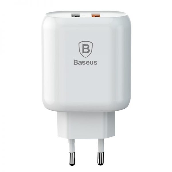 Baseus Quick Charge 3 0 Dual Usb 5v 3a Travel Wall Charger (5)