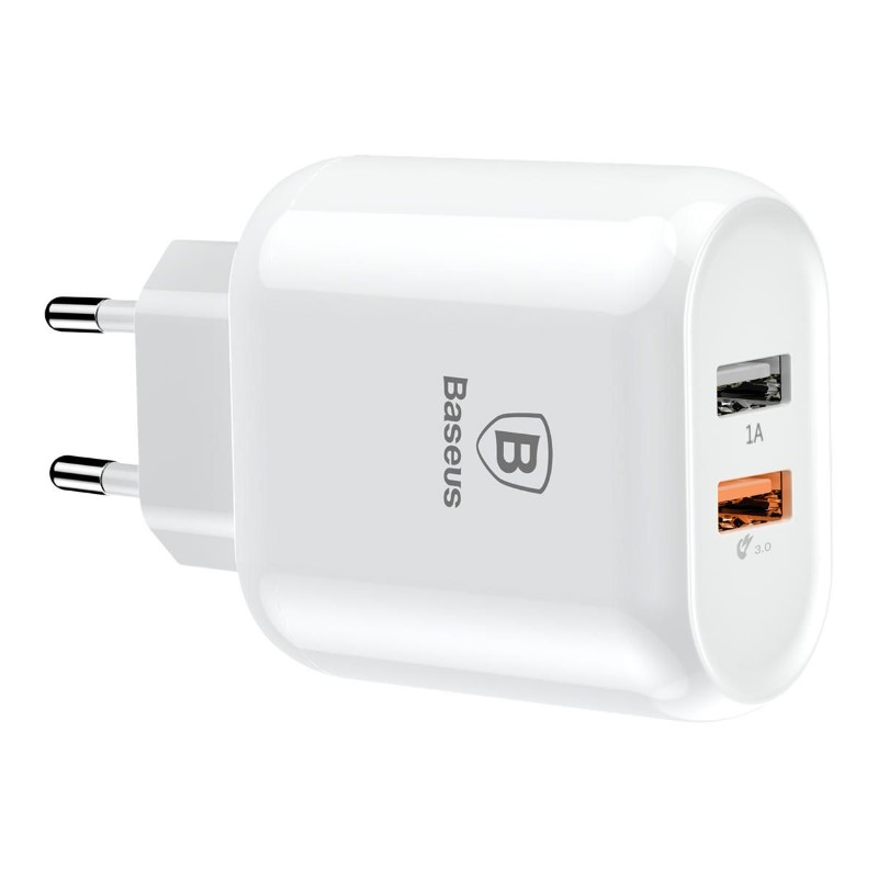 Baseus Quick Charge 3 0 Dual Usb 5v 3a Travel Wall Charger (6)