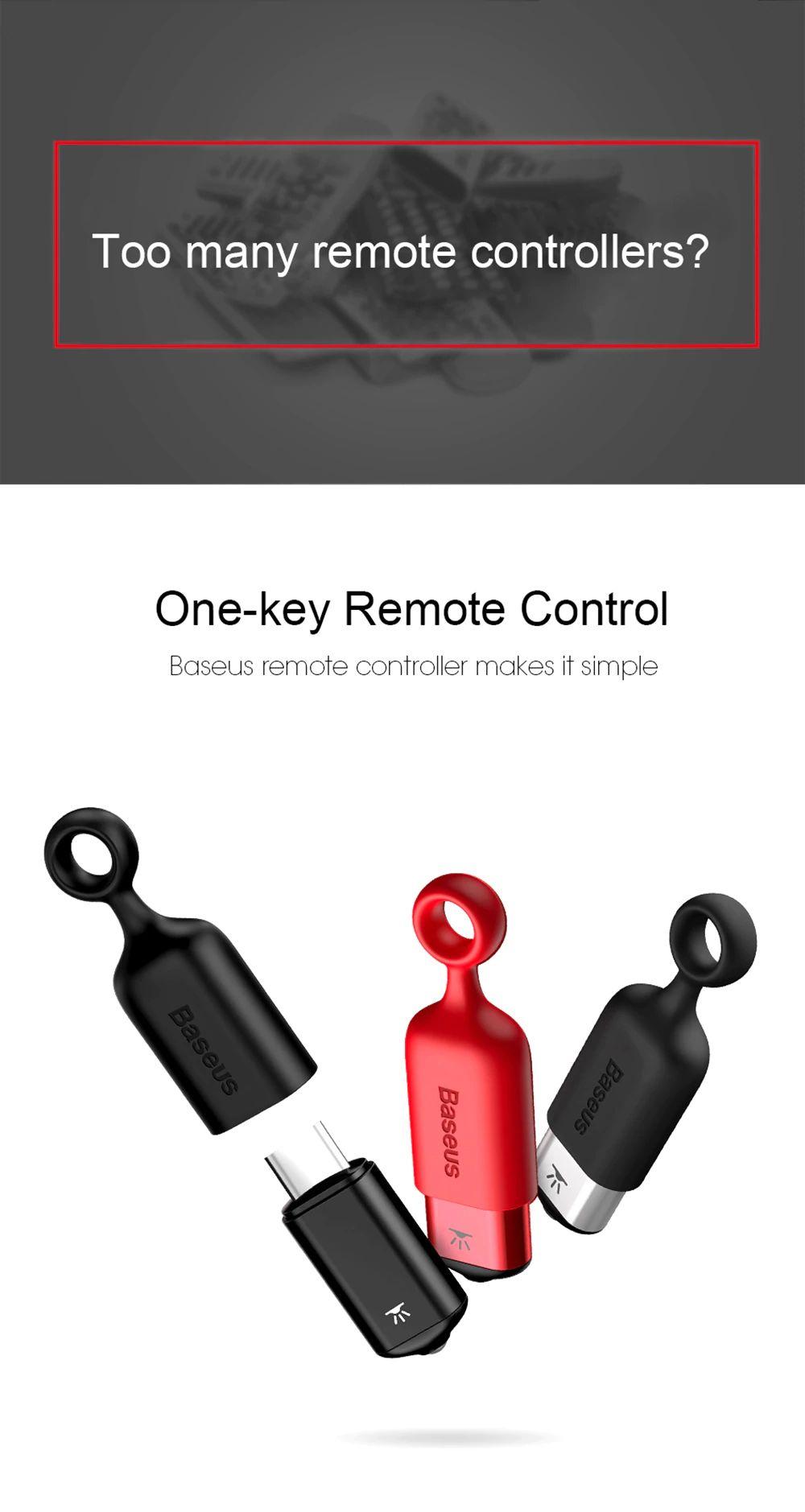 Baseus R02 Ir Remote Controller With Usb Type C (1)