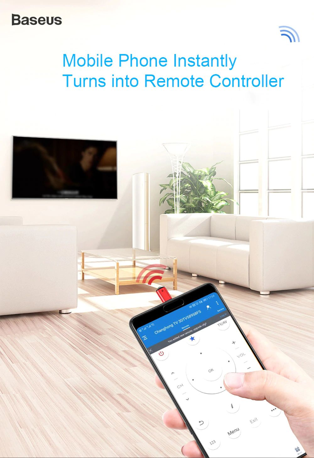 Baseus R02 Ir Remote Controller With Usb Type C (6)