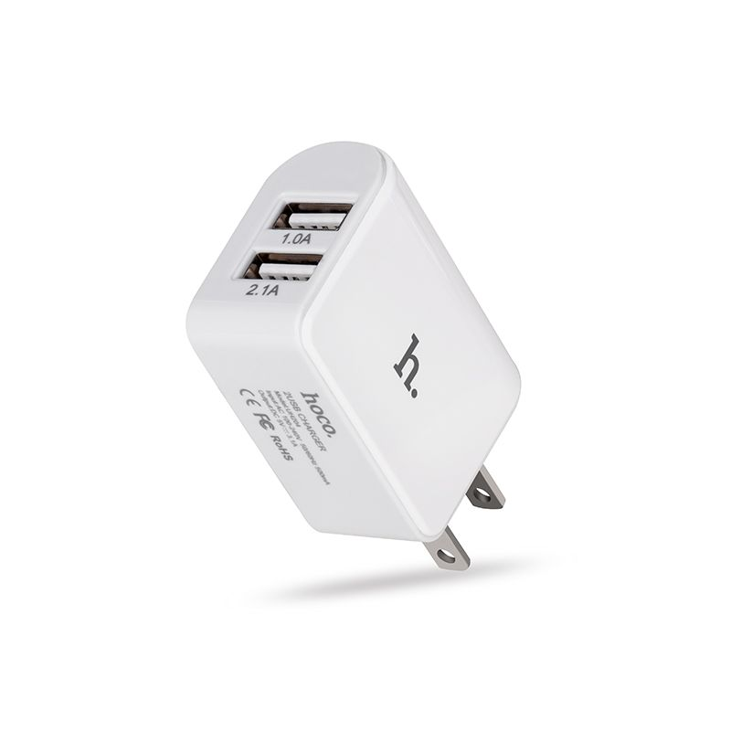 Hoco Uh204 Dual Usb Charging Adapter (1)