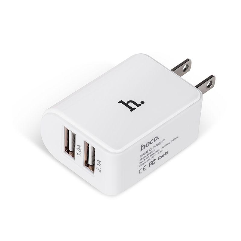 Hoco Uh204 Dual Usb Charging Adapter (5)