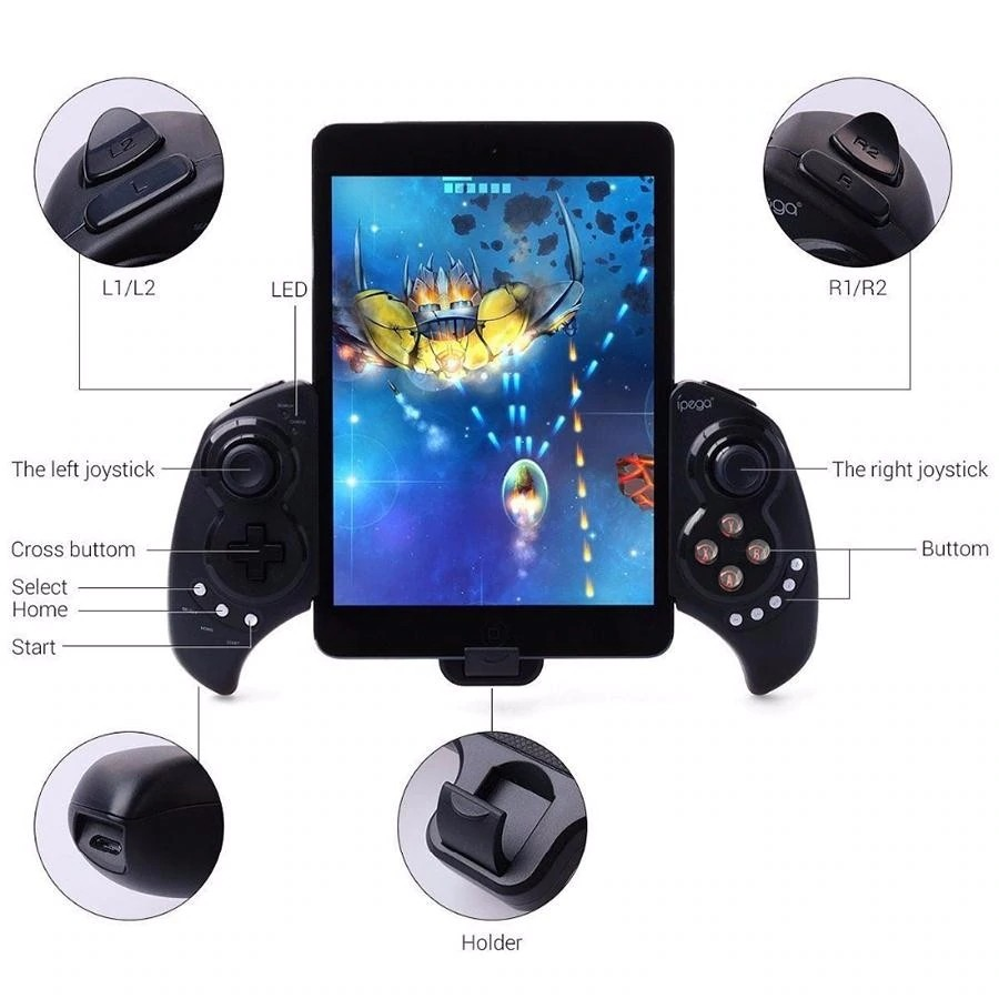 Ipega Pg 9023 Practical Stretch Bluetooth Game Controller Gamepad (15)