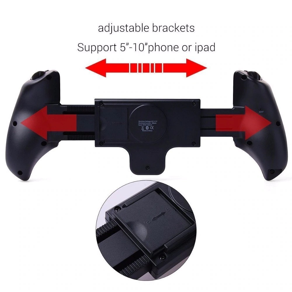 Ipega Pg 9023 Practical Stretch Bluetooth Game Controller Gamepad (8)