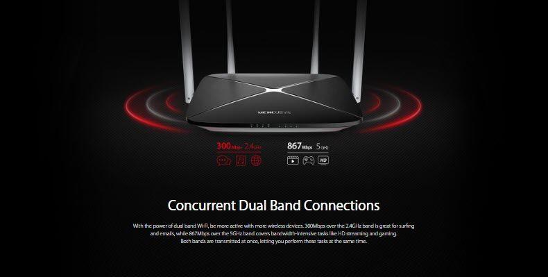 Mercusys Ac1200 Dual Band Wireless Router (3)