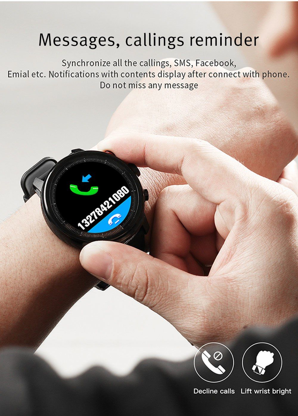 Microwear L5 Smart Watch (1)