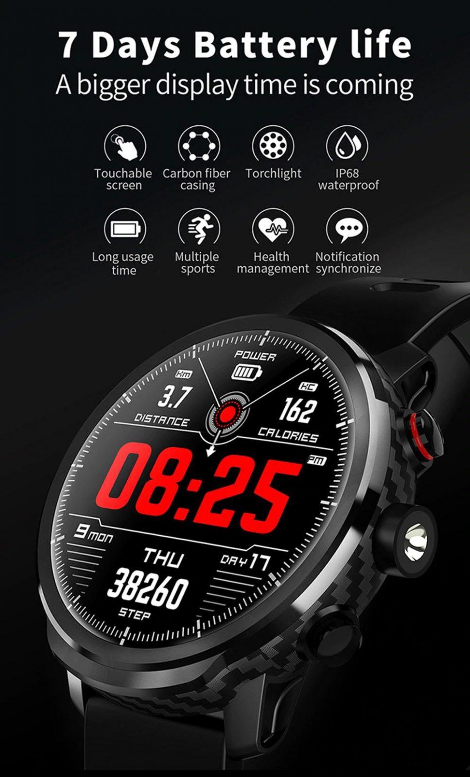 Microwear L5 Smart Watch (5)