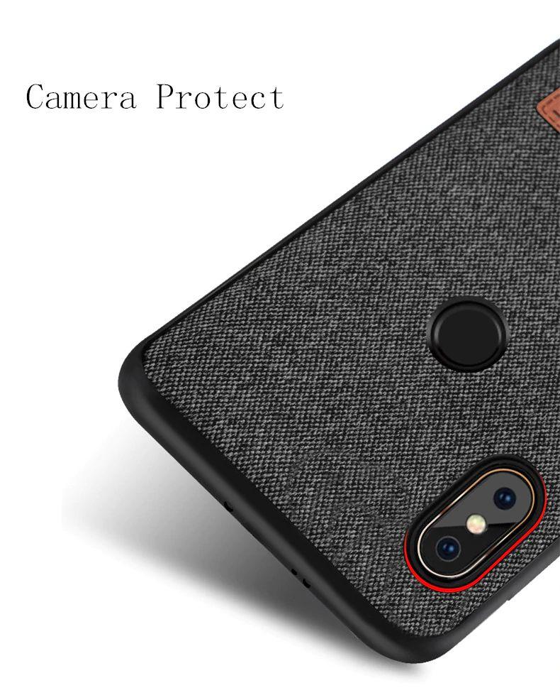 Mofi Protective Art Fabric Case For Xiaomi Redmi Note 7 (1)