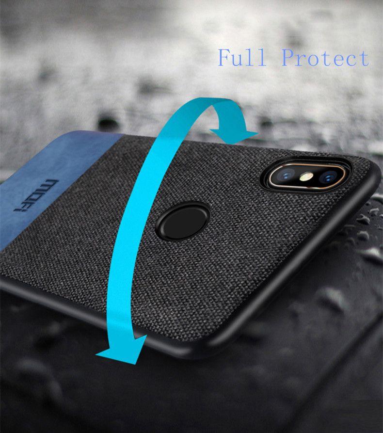 Mofi Protective Art Fabric Case For Xiaomi Redmi Note 7 (6)