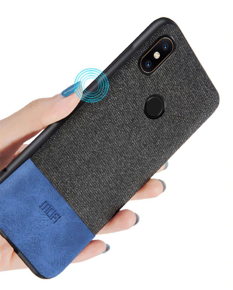 Mofi Protective Art Fabric Case For Xiaomi Redmi Note 7 (7)