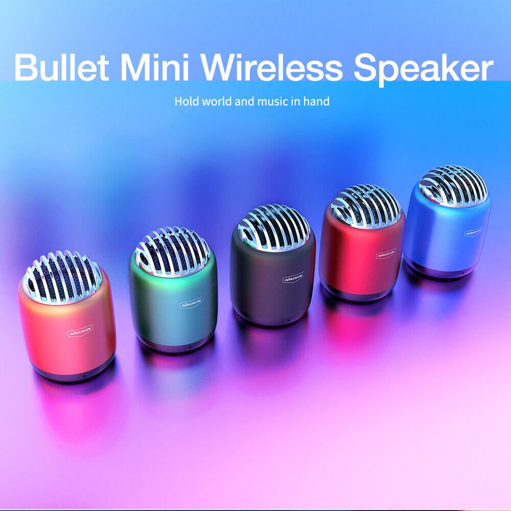 Nillkin Bullet Mini Wireless Speaker (1)