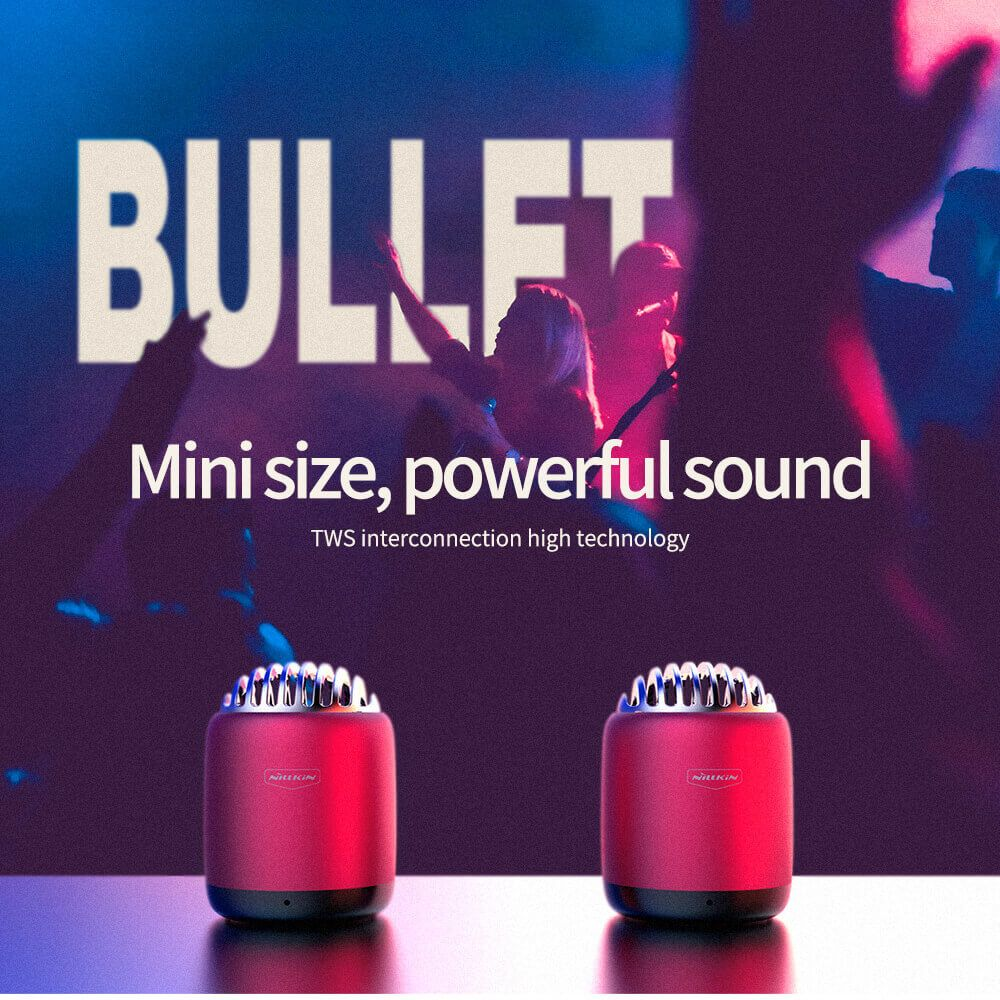 Nillkin Bullet Mini Wireless Speaker (2)
