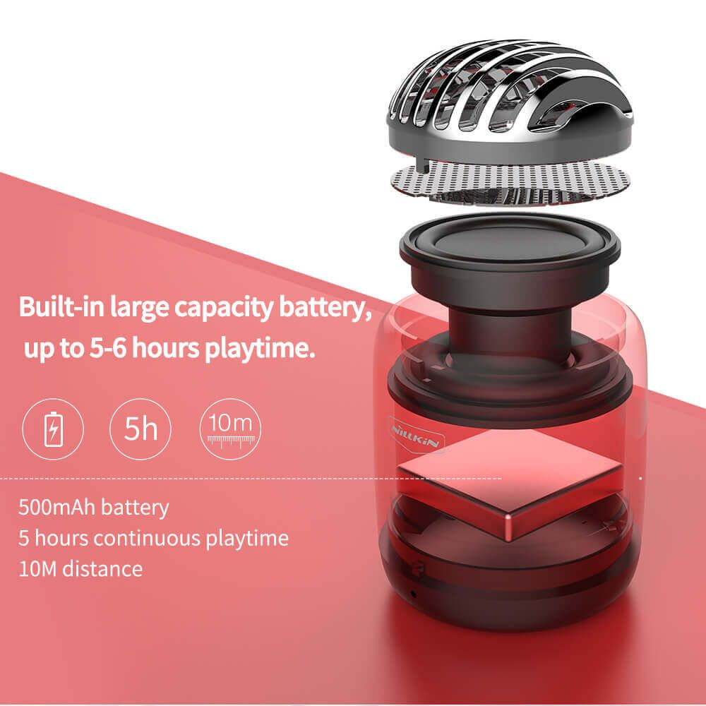 Nillkin Bullet Mini Wireless Speaker (5)