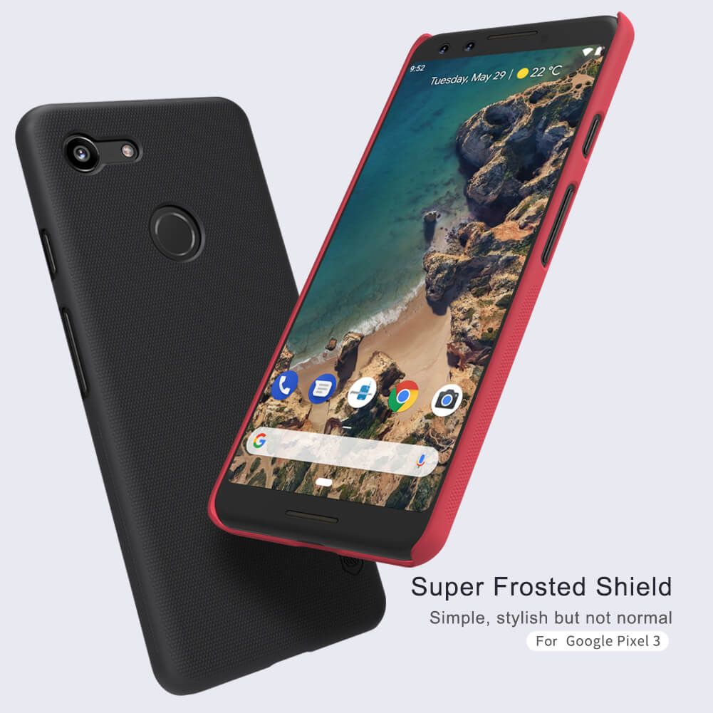 Nillkin Super Frosted Shield Matte Cover Case For Google Pixel 3 (1)