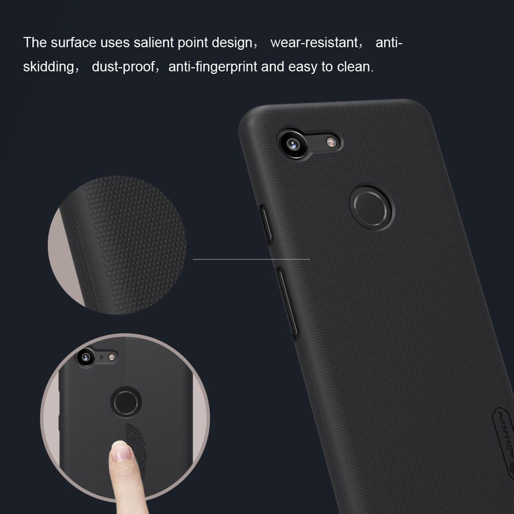 Nillkin Super Frosted Shield Matte Cover Case For Google Pixel 3 (5)